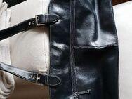 Damen lederhandtasche schwarz - Fürstenfeldbruck