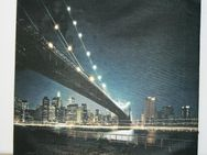 """❤️ ❤️ ❤️ Das Bild """"Brooklyn-Bridge"""" mit LED Beleuchtung und Schalter - Ingolstadt"""