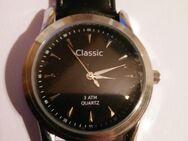 """Herren-Armbanduhr in Schwarz """"Classic"""" - Rees"""