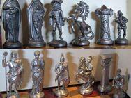 Schach Schachspiel Zinn Figuren Römer und das Mittelalter - Spraitbach