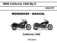 Werkstatthandbuch Moto Guzzi California 1400 von Juli 2013 ! - Bochum Hordel