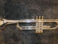 Trompete in B versilbert mit vergoldeten Elementen - Mechernich