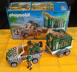 Playmobil 4855 Zoofahrzeug mit Anhänger
