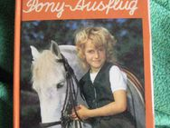 """Sehr schönes Kinderbuch in Schreibschrift """"Der Pony-Ausflug"""" von Ursula Hourihane, PEB Verlag, 1. Auflage aus 1987, 46 Seiten, ISBN: 3536017886, zum Schutz für weiteren Gebrauch schon eingebunden, sehr guter Zustand, 4,- € - Unterleinleiter"""