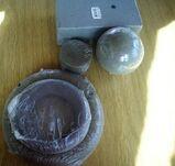Steckschwamm Kugel+Rechteck+Zylinder+2 Kränze zum Basteln
