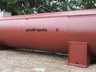 Stahltank 40.000 L Wassertank Palmöltank Futtermitteltank Gülletank Rapsöltank Molketank