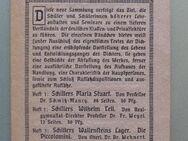 Werbeblatt Schöningh Verlag Paderborn, ca. 1911 - Münster