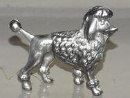 Hund Pudel aus Zinn für Setzkasten 4,5 cm - Spraitbach