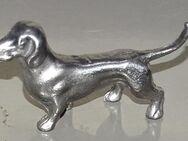 Hund Dackel aus Zinn für Setzkasten 2,5 cm - Spraitbach