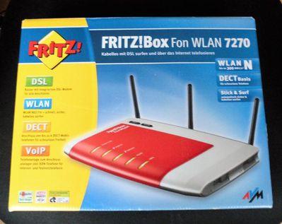 AVM FRITZBox Fon WLAN 7270 300 Mbps 4-Port 100 Mbps Funk Router - Oldenburg