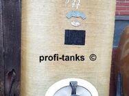 P77 gebrauchter 3.000 Liter Polyestertank GFK-Tank Staffelstein-Tank Wassertank Regenauffangtank Flüssigfuttertank Molketank Lagerbehälter für div. Medien - Nordhorn