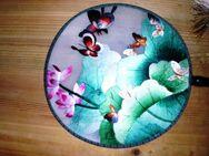 Gestickter Fächer Schmetterlinge - Merkelbach