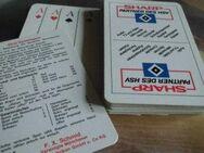 Hamburger Spielverein HSV Kartenspiel Werbung Sharp - Bottrop