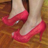 High Heels /peeptoes / Pumps /Schuhe / damen / gr. 39