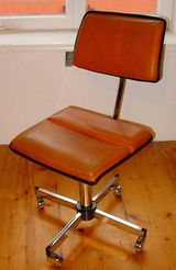 Sedus Stoll Stuhl Bürostuhl von 1973 Schreibtischstuhl Drehstuhl mit Rastermechanik
