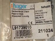 Hager Geräteblende 2x in OVP - Berlin Friedrichshain-Kreuzberg