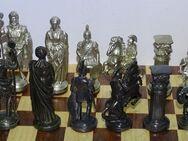 Schach Schachspiel  Zinn Figuren Römer hell & dunkel - Spraitbach