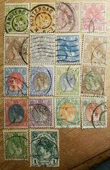 Niederlande Div.Briefmarken Queen Wilhelmina 1899- 1920 Mi.NL 53-98 Lot 1235