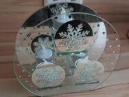 Dekorativer winterlicher Teelichthalter - Bochum