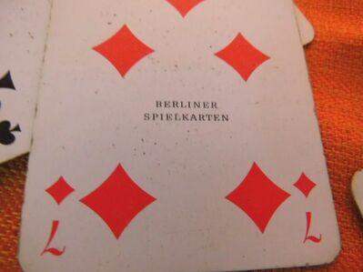 Skatspiel als Werbeträger Berliner Kindl 1970 / Berliner Spielkartenfabriken - Zeuthen