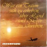 Fliegerlieder, 45er (Single) der ehemaligen DDR-Fluggesellschaft Interflug