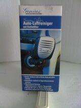 Auto-Luftreiniger v. Genius m. Kohlefilter, neu, ovp.