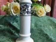 KAISER Porzellan Kerzenständer - Leuchter - Halter schwarze Ranken / NEU - Zeuthen