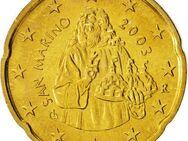 20 Euro Cent San Marino 2003 Kursmünze,Lot 129