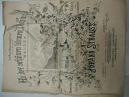Johann Strauss Partitur Noten antik - Berlin Marzahn-Hellersdorf