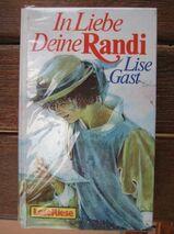 """Schönes Pferdebuch """"In Liebe – Deine Randi"""" von Lise Gast, Loewe Verlag, stammt 1988, 344 Seiten, ISBN: 3785521782, zum Schutz für weiteren Gebrauch schon eingebunden, sehr guter Zustand, 4,- €"""