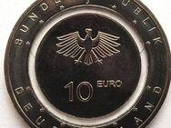 """10 Euro Münze""""10 €Stück""""Polymer Ring""""Luft bewegt""""2019""""Deutschland - Hamburg"""
