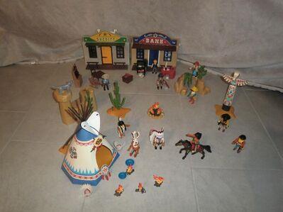 Indianerwelt von Playmobil zu verkaufen - Walsrode