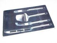 "4tlg. Käse-Schneide-Set 1 Hobel ; 3 versch. Messer aus ""Edelstahl"""