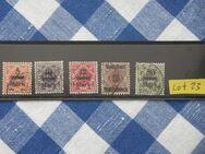 Württemberg Dienstmarken 1923 Ziffern in Raute,Lot 23