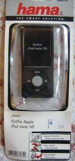 iPod nano 5G Silikontasche Astao. Hama NP 16 Euro - Celle