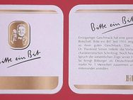 Bitte ein Bit Bitburger Brauerei Bierdeckel BD Bierfilz Coaster - Nürnberg
