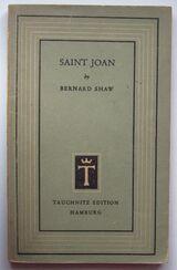 Bernard Shaw: Saint Joan (1948, engl.)
