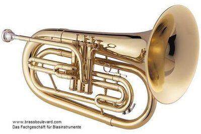 Jupiter Bassflügelhorn, Mod. 560 L, Messing lackiert, Neuware inkl. Koffer - Hagenburg