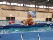 Ruderboot mit Rollsitz, Rennruderboot - Warin