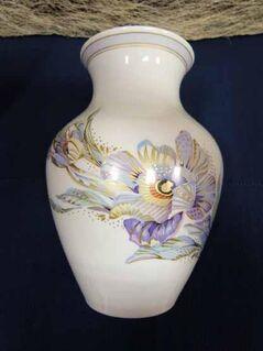 Kaiser Porzellan Vase Annabelle / Blumenvase / Prunkgefäß / K. Nossek / 23,5 cm - Zeuthen