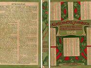 Kürschners Jahrbuch 1908 - herausgegeben von Hermann Hillger - Zeuthen