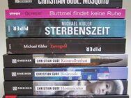 Darmstadt Krimi 8 Stück, von Michael Kibler, Christian Gude, Fritz Deppert - Ober-Ramstadt