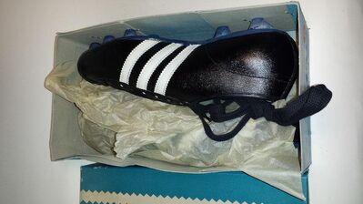 5 Größe 10 Gr Alte Fußball Fußballschuhe Vintage Real Adidas