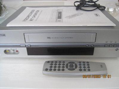 TCM-Videorecorder 204467, HAMA-AV-Processor 124, ROWI-Titelmaker 7200 - Erlensee