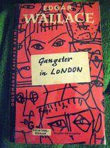 """Spannender Kriminal-Roman """"Gangster in London"""" von Edgar Wallace in gutem Zustand, Goldmann Taschenbuch, 3,- €"""