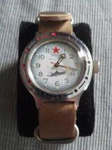 Seltene russische vintage UdSSR Taucheruhr Vostok Amphibia