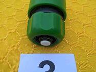 Wasserschlauch- Schnellanschluß Adapter mit Auto-Stop Ventil beim Gerätewechseln - Aachen