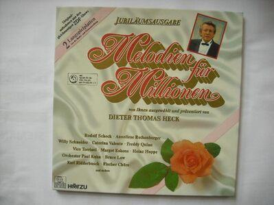 Melodien für Millionen - Jubiläumsausgabe - Dieter Thomas Heck (Vinyl Langspielplatte) - Rosenheim