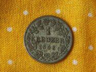 1 Kreuzer Bayern,1848,Ludwig I.,Lot 318
