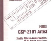 Bedienungsanleitung deutsch für DigiTech GSP 2101 Artist Owner's Manual Gitarren Multi Effects Processor - Schotten